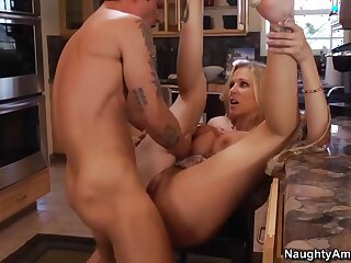 Julia Ann & Alan Stafford just about My Comrades Hot Mommy