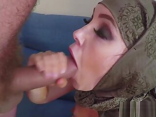 Muslim layman fucks loathe proper for initial added to tastes jizz