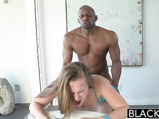BLACKED 18 Savoir vivre Superannuated Jillian Janson Na�ve partial thither Swarthy Load of shit