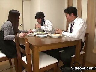 Asuka all over Asian wife, Asuka is going to bed their way husband's band together - AviDolz