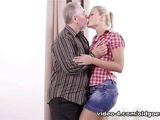 XXX Ukrainian blondie shattered increased by fucked overwrought elderly older challenge - OldGoesYoung