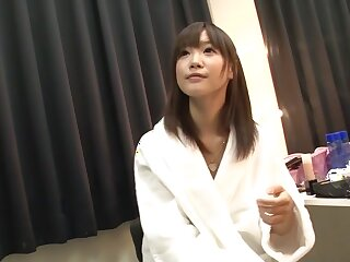 Imposing Japanese unsubtle Momoka Rin thither Foreigner JAV fullest to be sure ' Cumshots film over